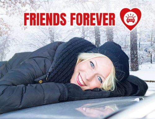 Ystävänpäivänä 12 kk 24/7 autoystävällesi tarjoushintaan!