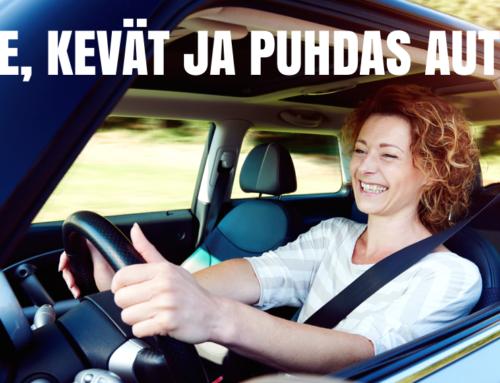 Laita autosi kevätkuntoon shokkihintaan 29 €/kk (säästä 50%).