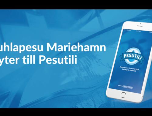 Juhlapesu Mariehamn byter till Pesutili