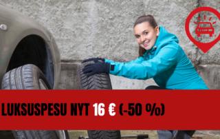 Luksuspesu 16 €